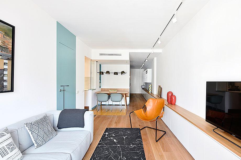 pisos decorados en blanco - Barcelona
