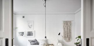 pisos decorados en blanco - Sabor escandinavo