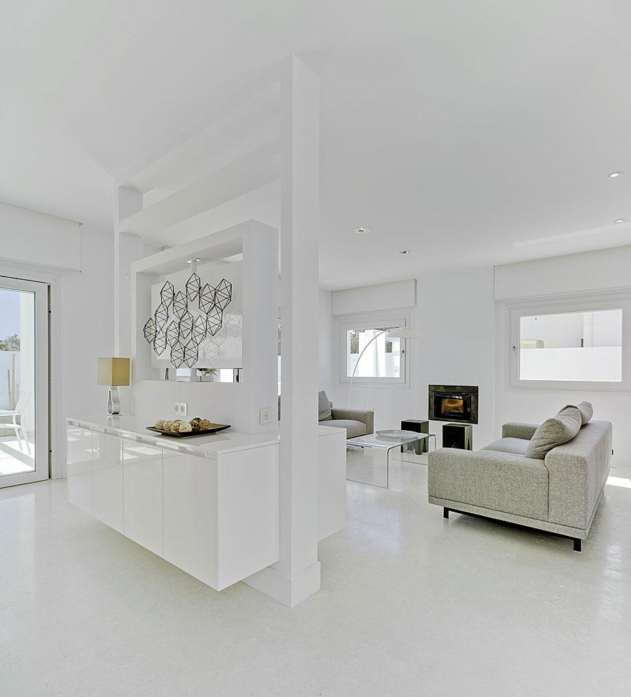 pisos decorados en blanco - Almería