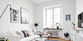 decoración de pisos pequeños - todo en orden