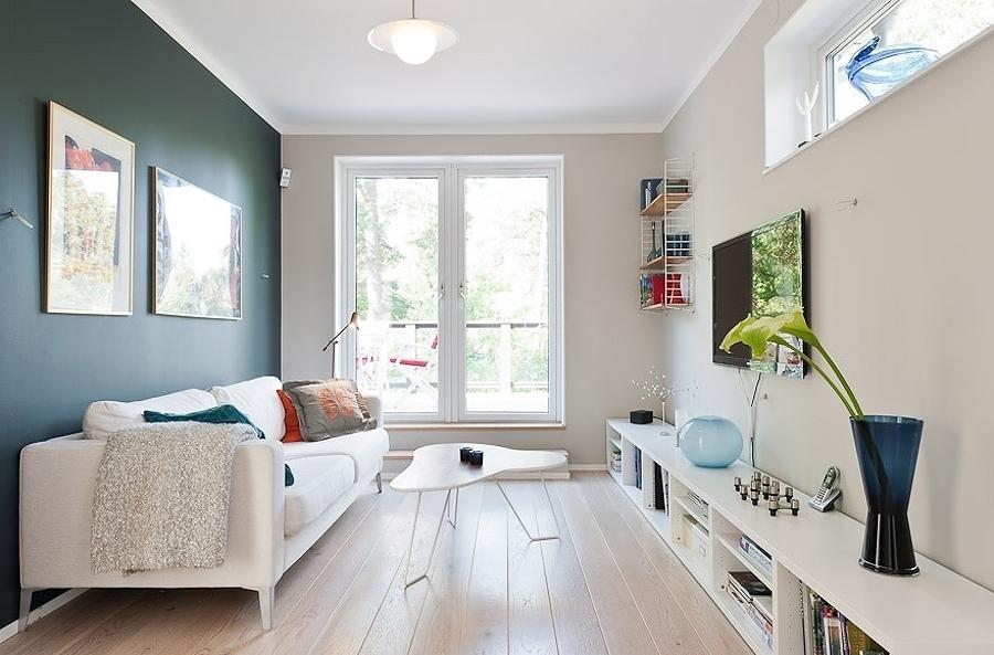 decoración de pisos pequeños - los colores