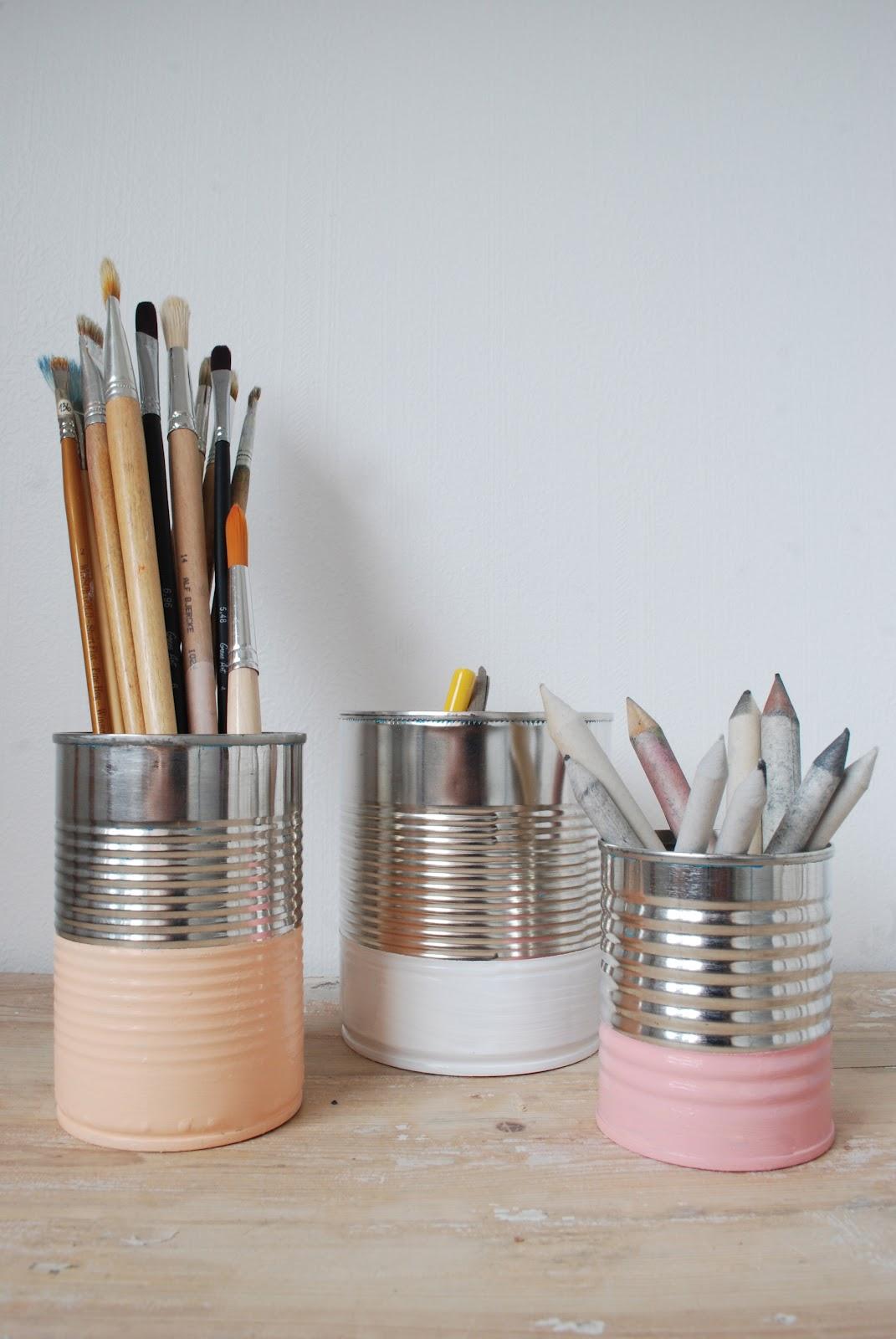 reciclar latas de conserva - DIY