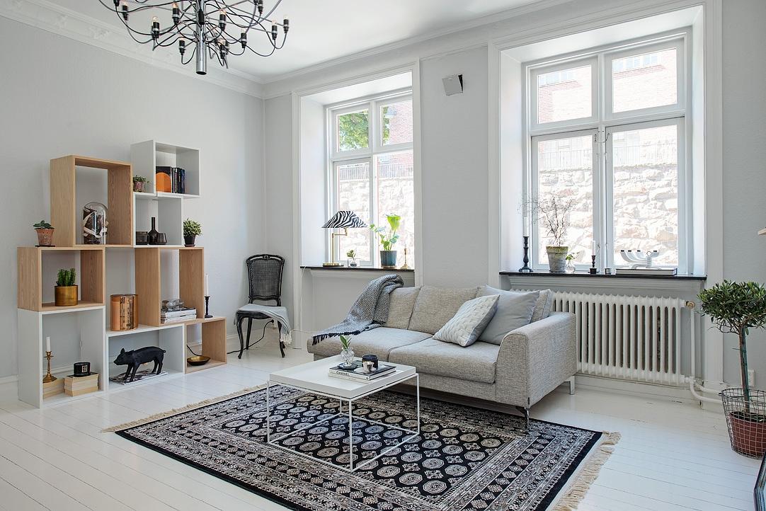 decoración sencilla- tejidos cálidos