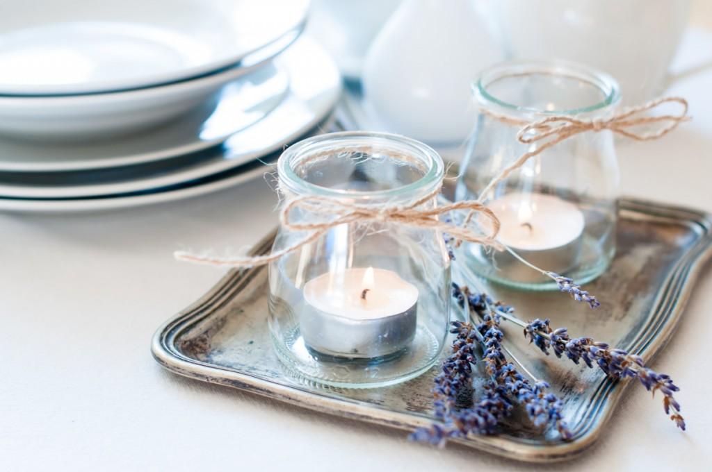 decoración con encanto - velas
