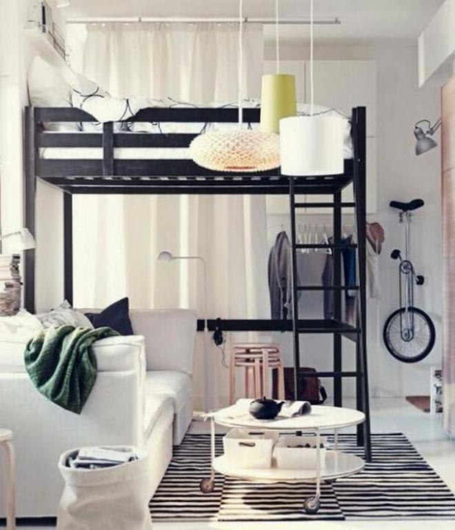 pisos pequeños con encanto