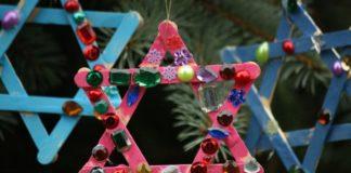 adornos de Navidad fáciles de hacer - estrellas