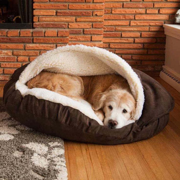 camas para perros - Una guarida para el frío