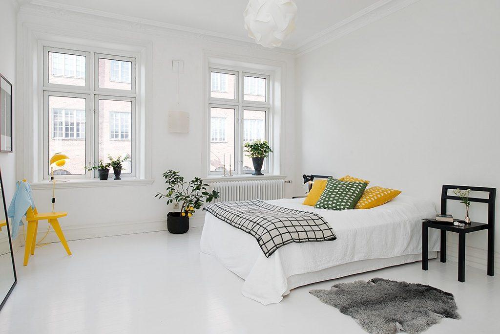dormitorios minimalistas - colores