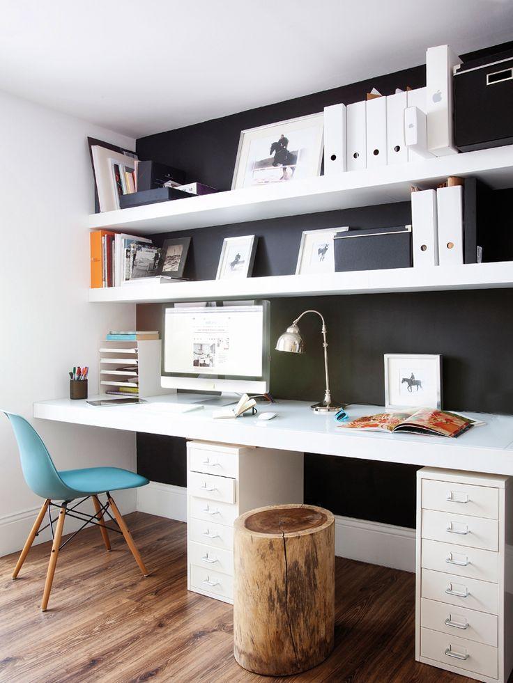 decoración del despacho - mobiliario necesario