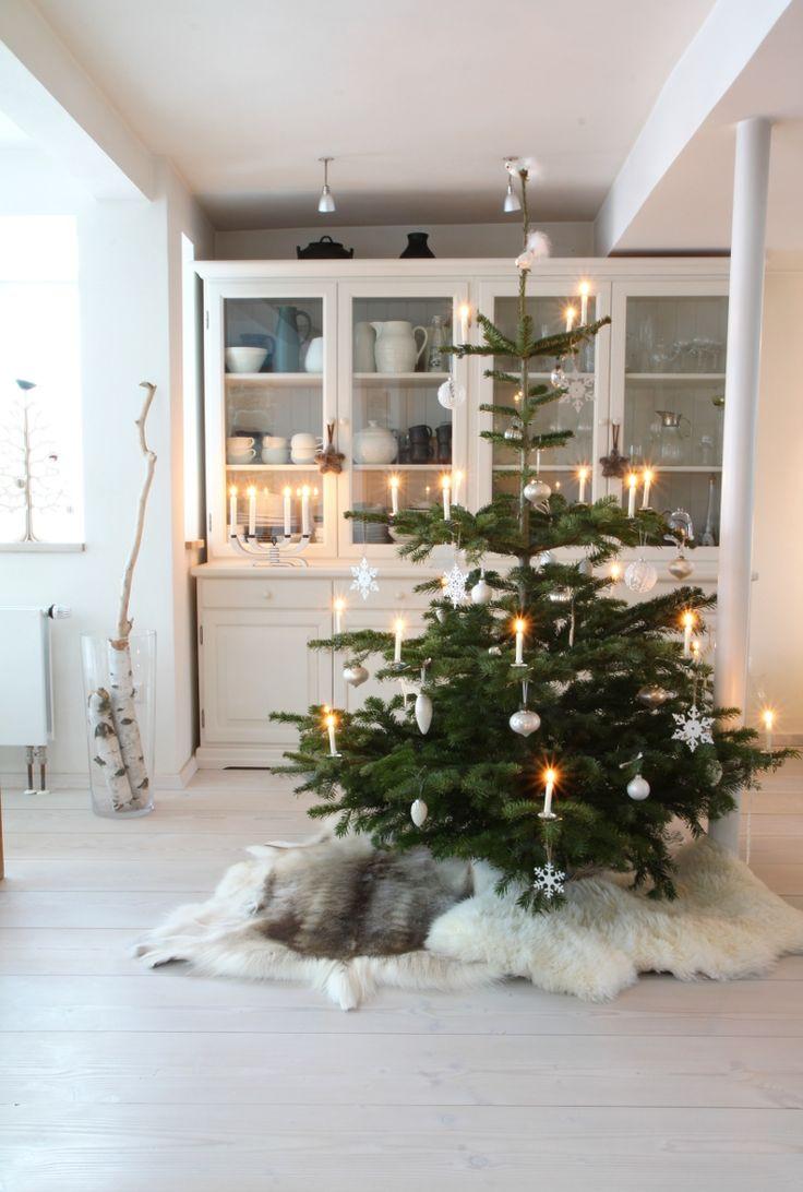 árbol de Navidad nórdico - iluminación