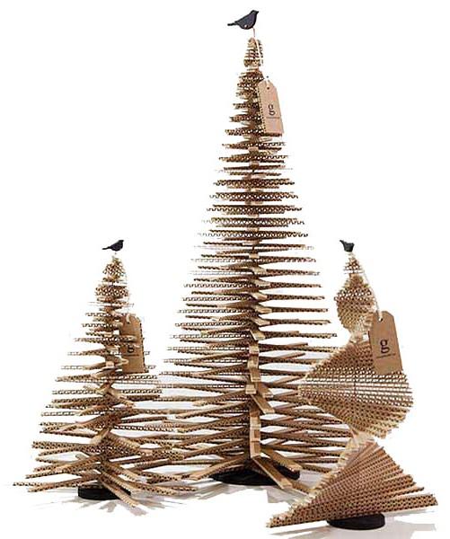 árboles de Navidad originales - de formas singulares