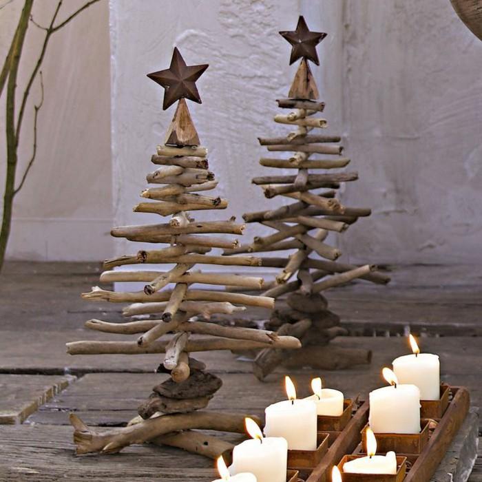 árboles de Navidad originales - con ramas