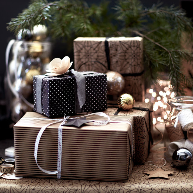 adornos de Navidad de Ikea - regalos