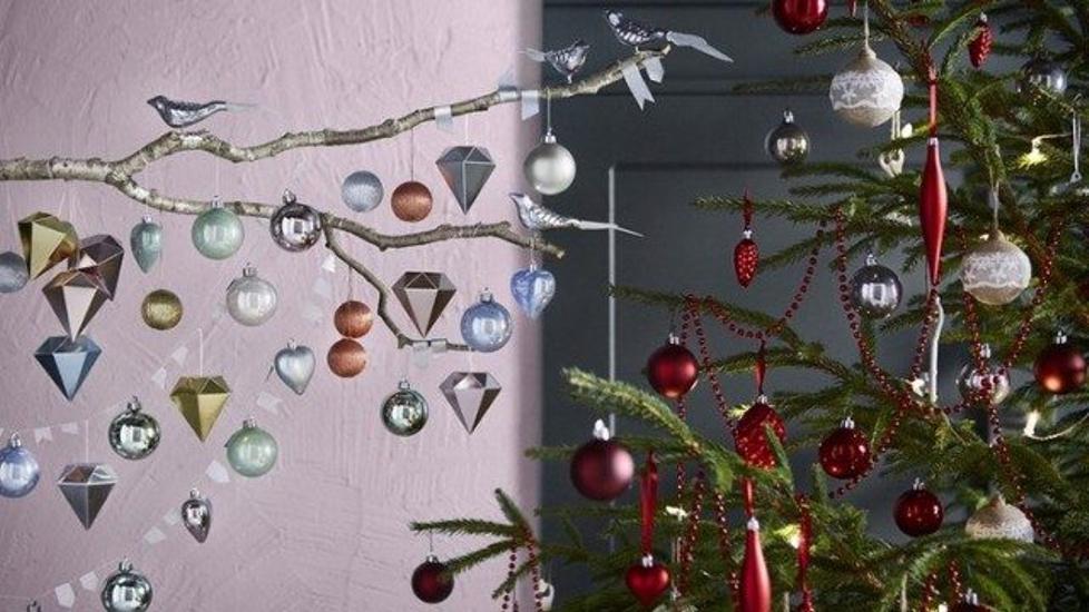 adornos de Navidad de Ikea - colgantes