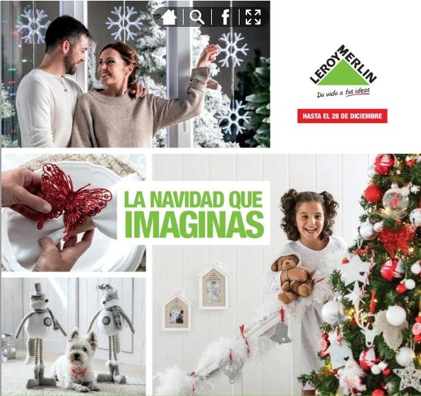 adornos de Navidad de Leroy Merlín - catálogo