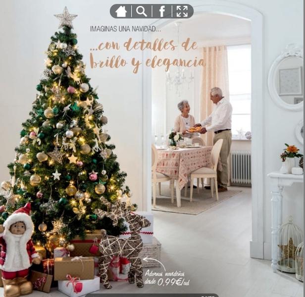 adornos de Navidad de Leroy Merlín - Brillo y elegancia