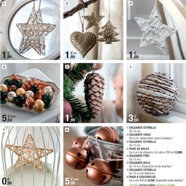 adornos de Navidad de Leroy Merlín - estrellas