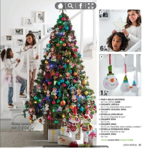 adornos de Navidad de Leroy Merlín divertidos