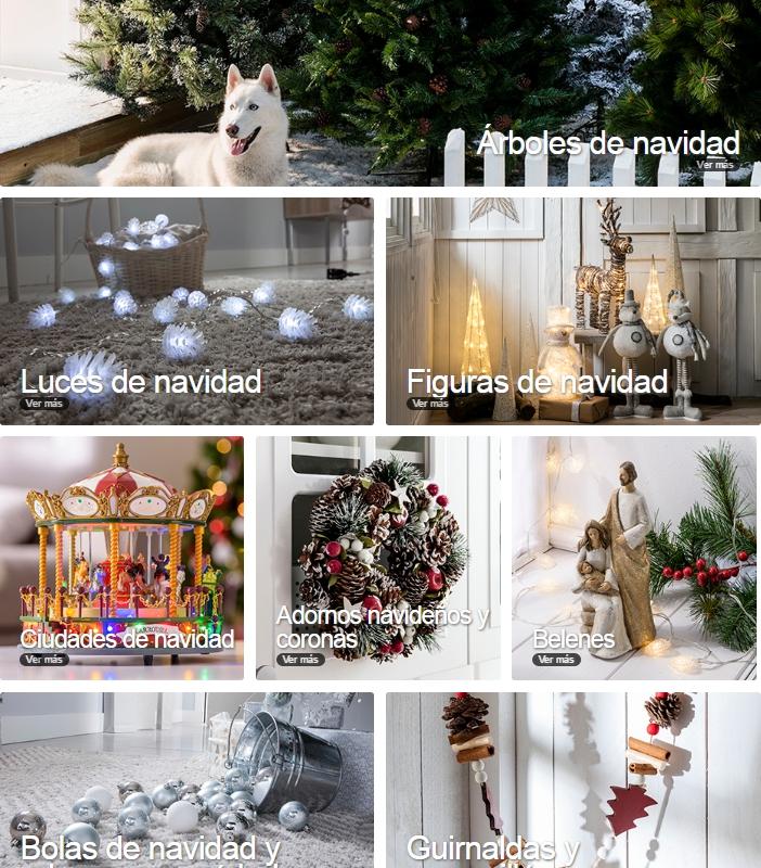 adornos de Navidad de Leroy Merlín - Novedades