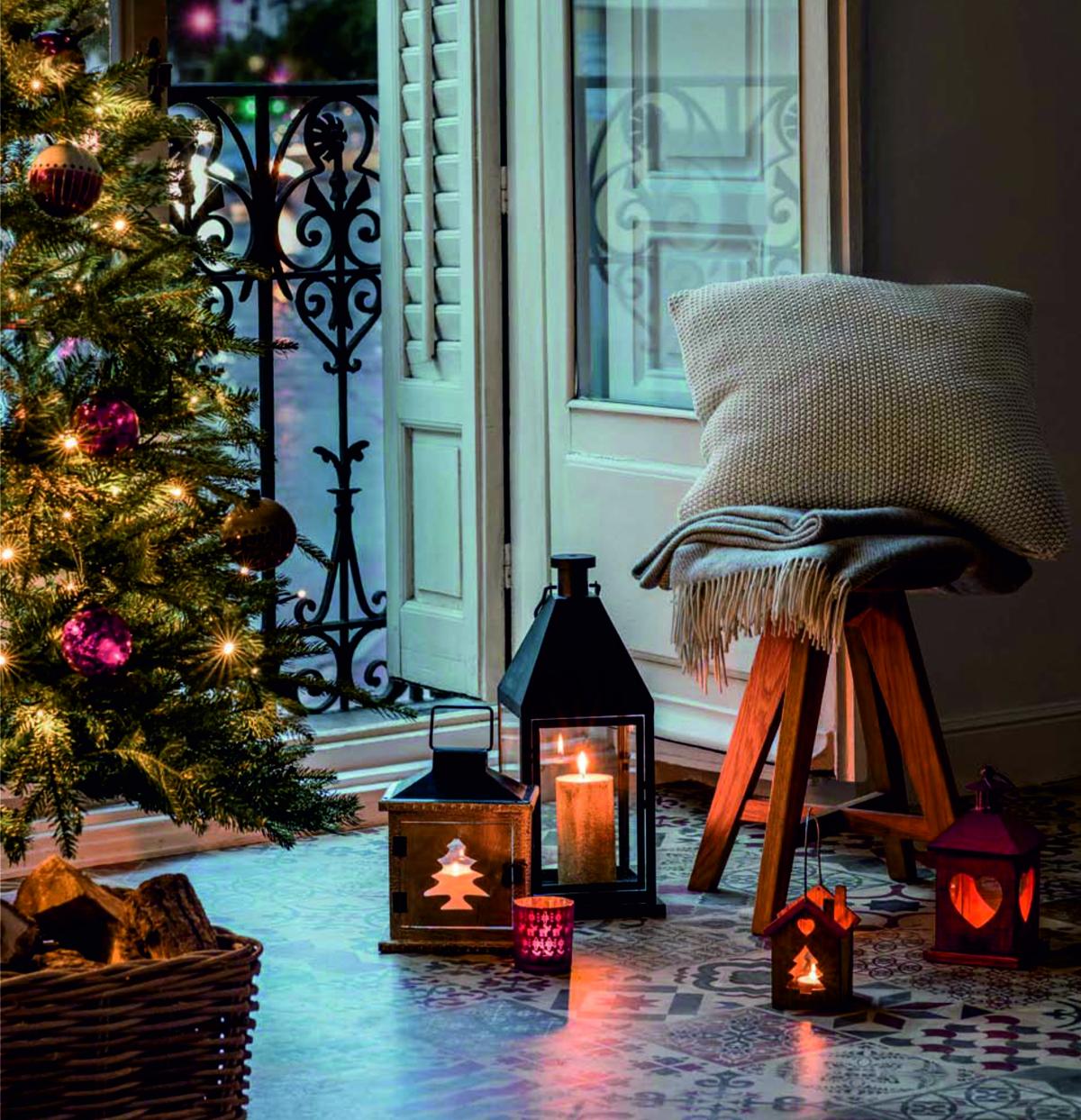 adornos de Navidad de El Corte Inglés - farolillos