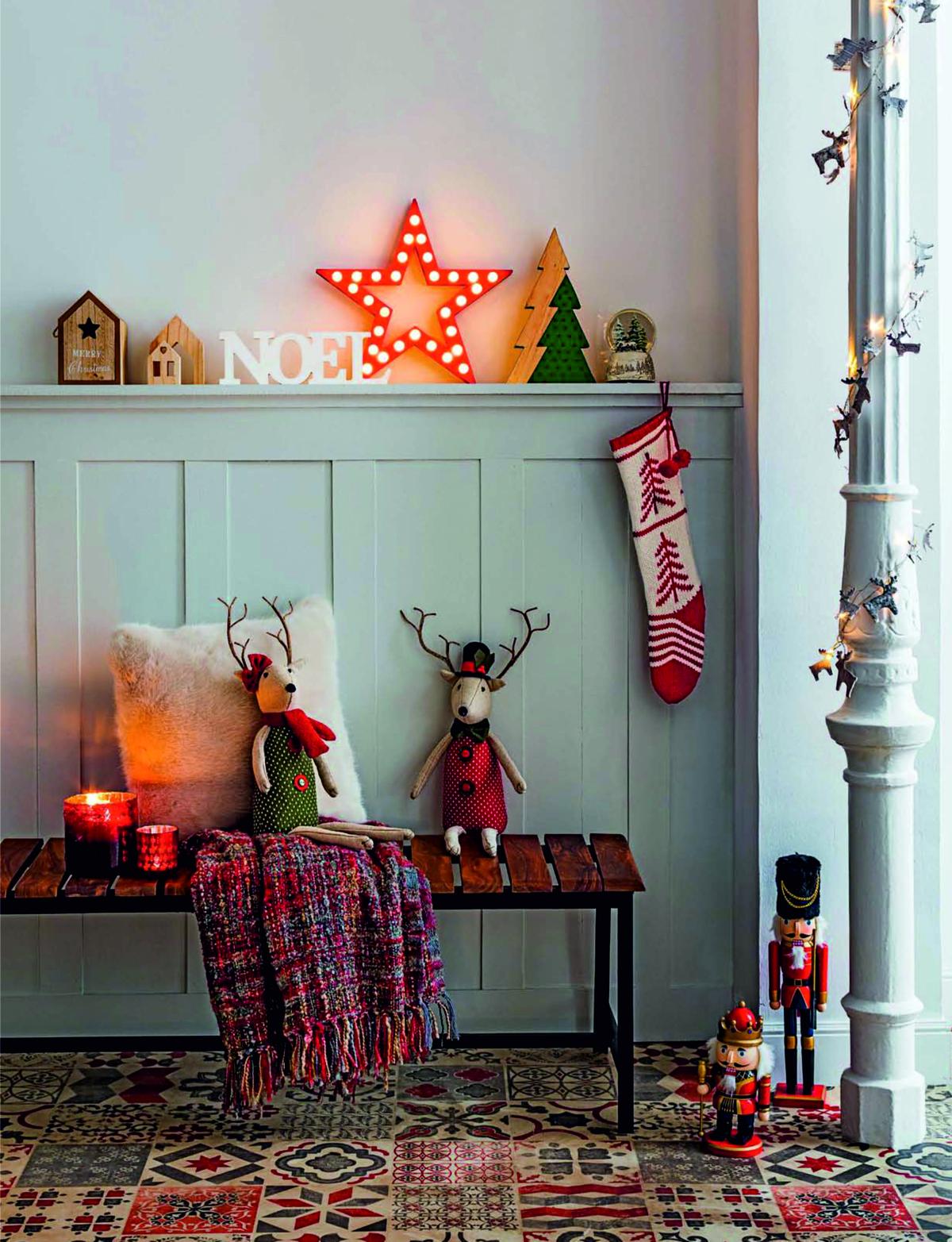 adornos de Navidad de El Corte Inglés - muñecos navideños