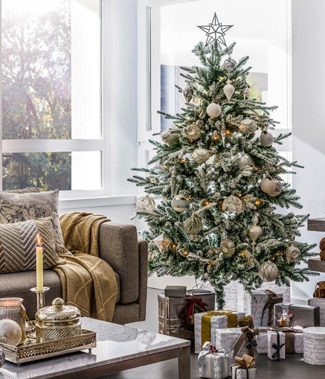 adornos de Navidad de El Corte Inglés - adornar el árbol