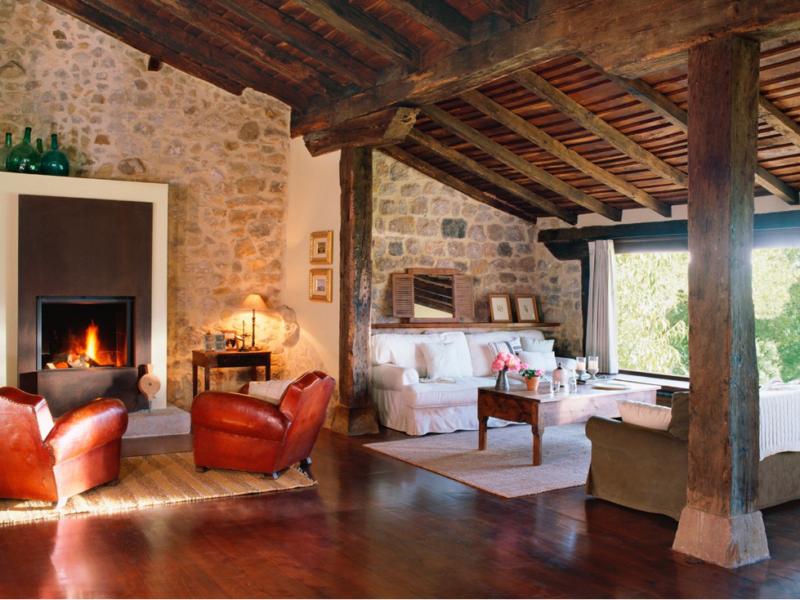 decorar una casa rural - ambiente especial