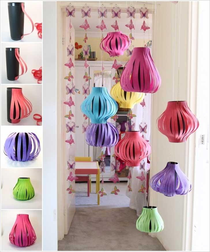 pantallas para lámparas de papel - para Año Nuevo chino