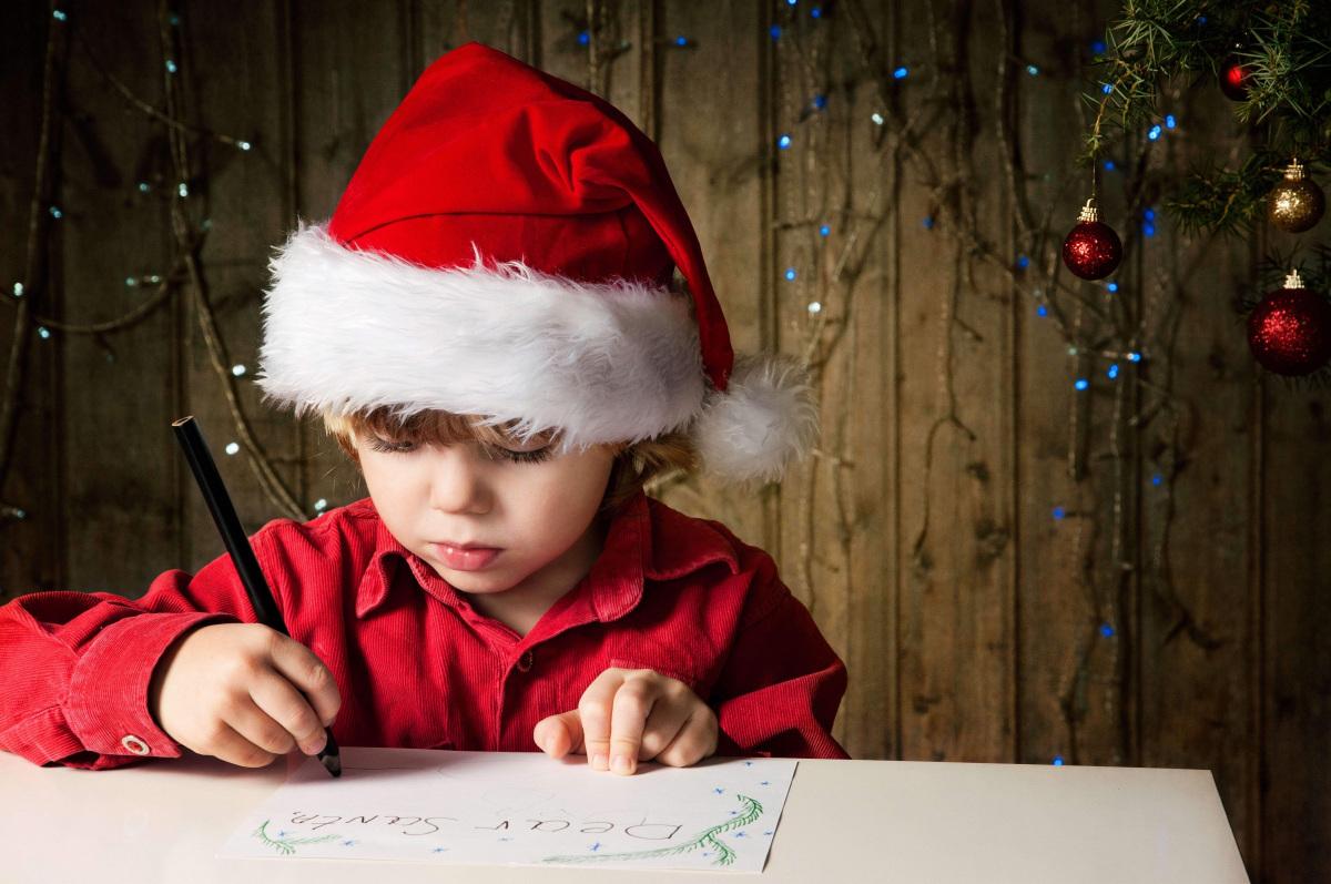 carta de Papá Noel para los niños