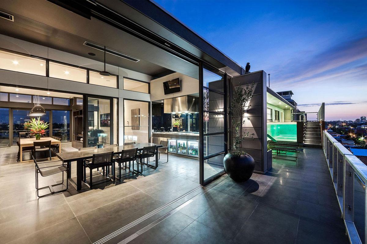 áticos de lujo - Melbourne
