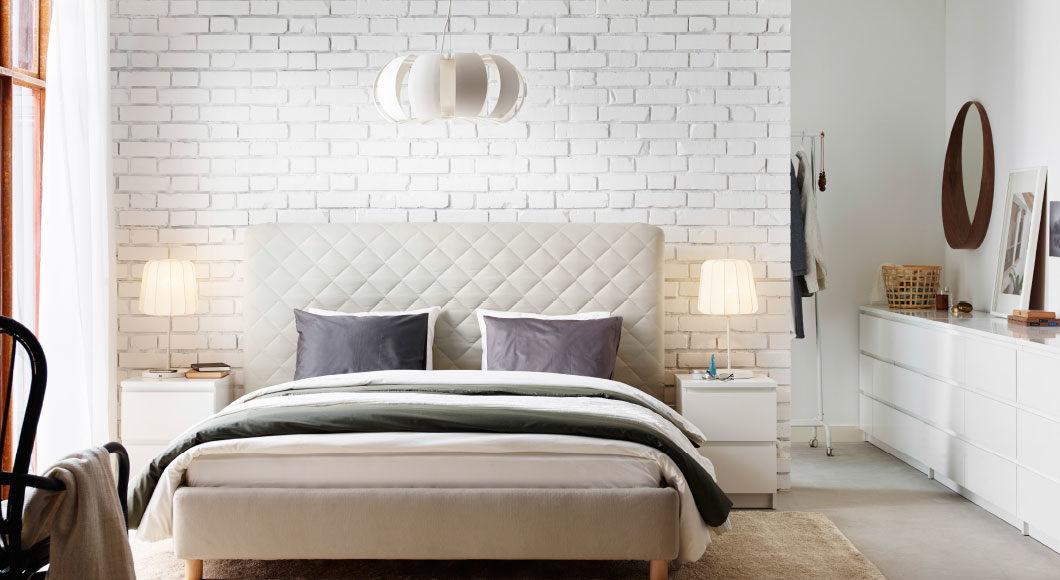 dormitorios modernos con ladrillo visto