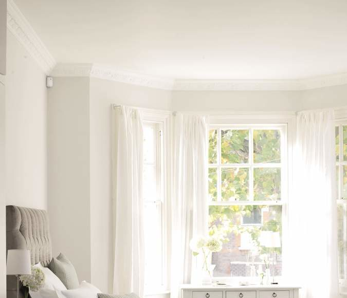 dormitorios modernos - cortinas