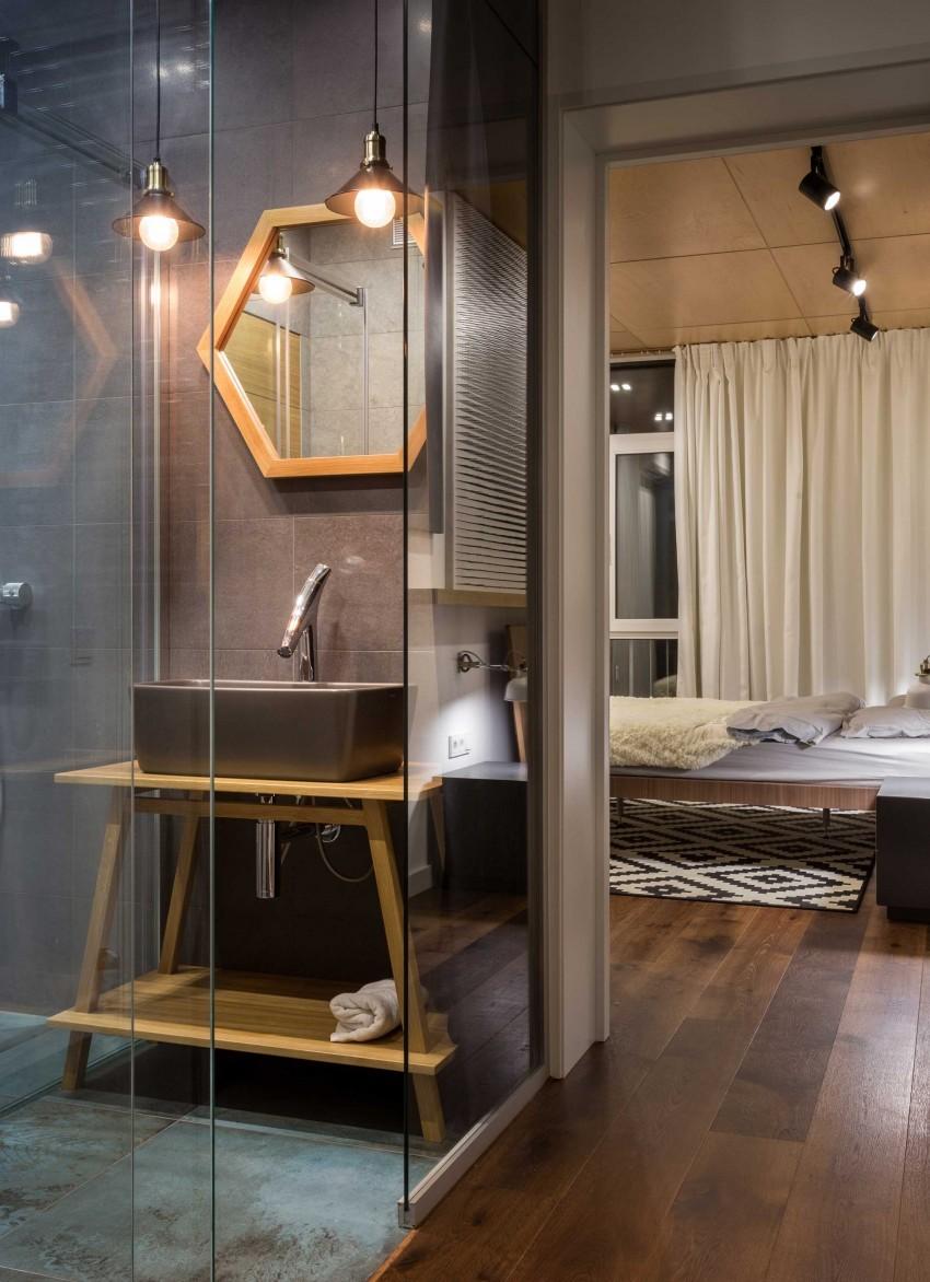 baños originales con iluminación especial