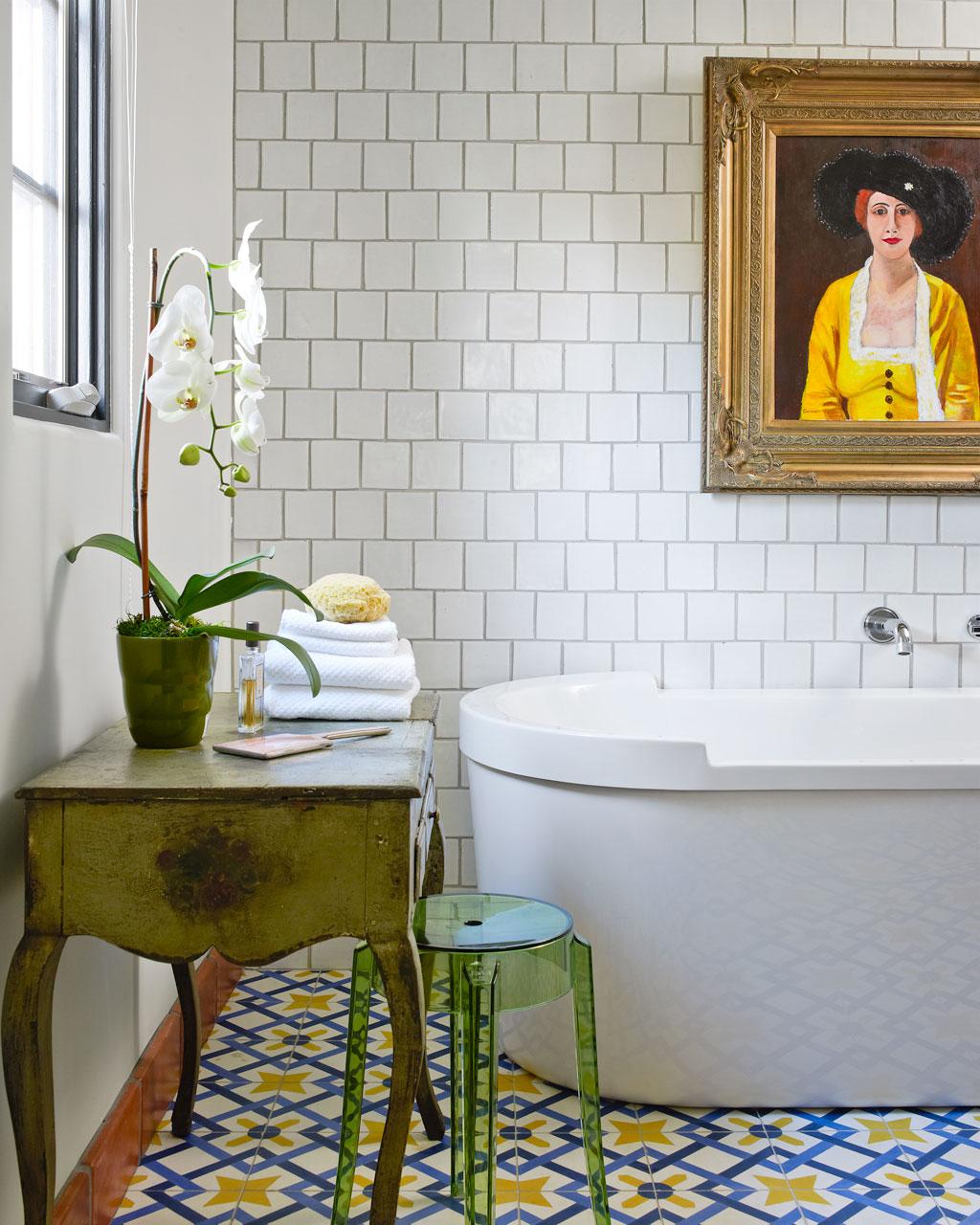 baños originales - azulejos metro