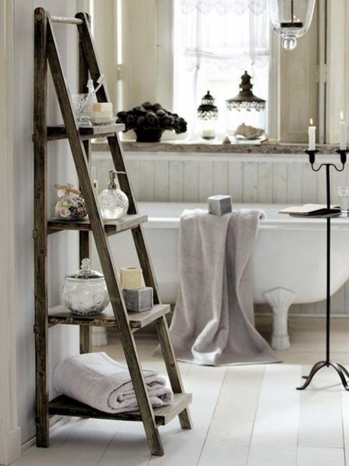 baños originales con escaleras