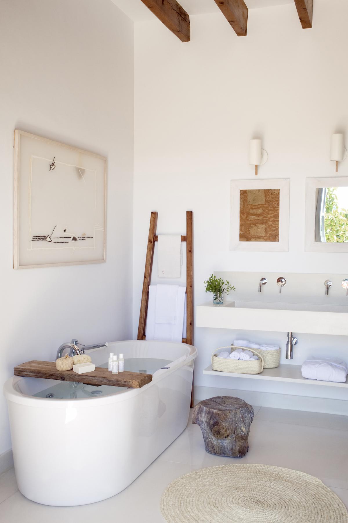 baños originales y blancos