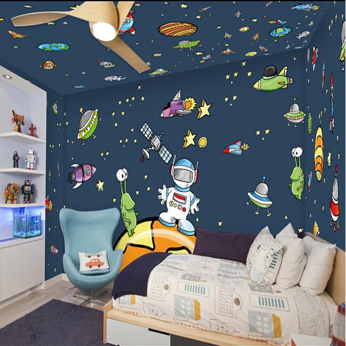 vinilos infantiles- astronautas