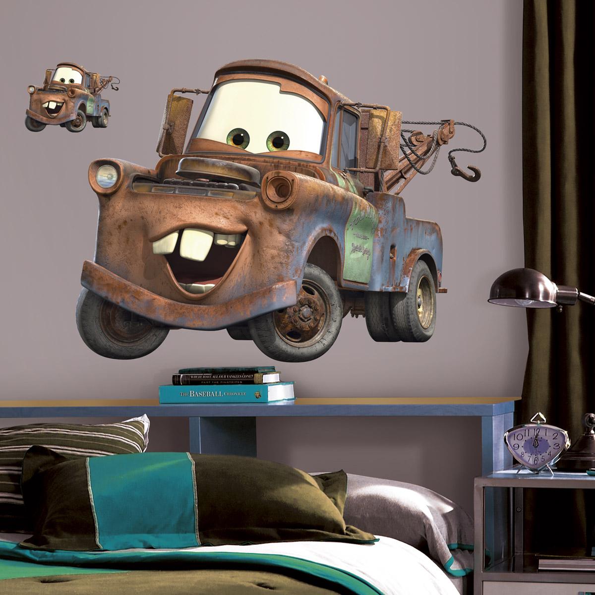 vinilos infantiles - coches animados