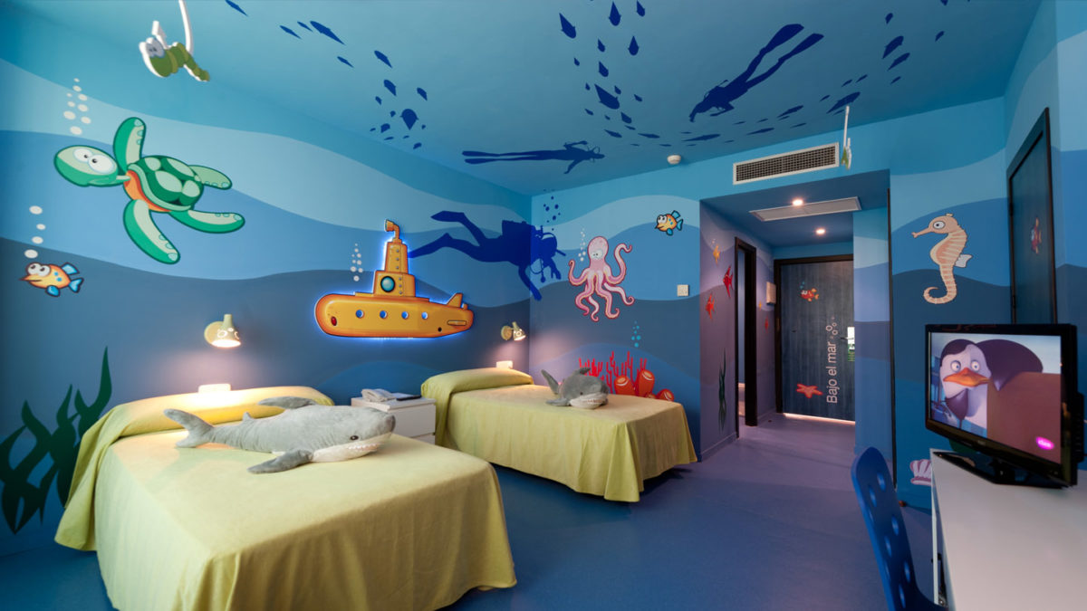 vinilos infantiles - mundo submarino
