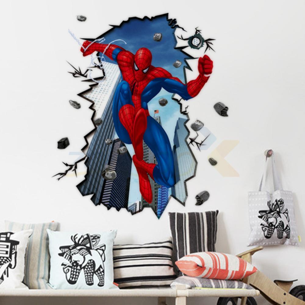 vinilos infantiles - spiderman