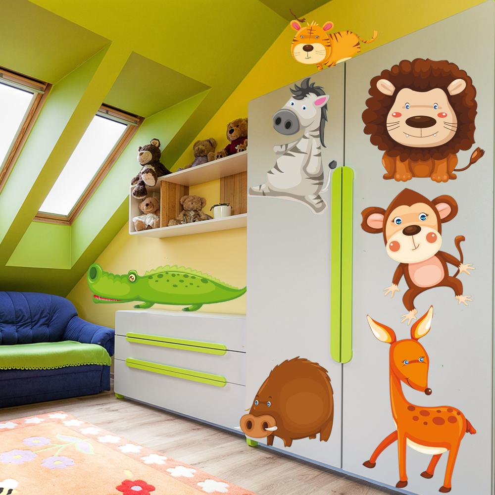 vinilos infantiles en los muebles
