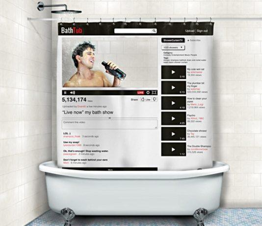 cortinas de baño divertidas - Youtube
