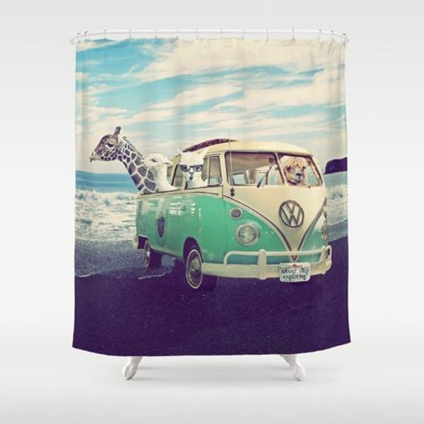 cortinas de baño divertidas personalizadas