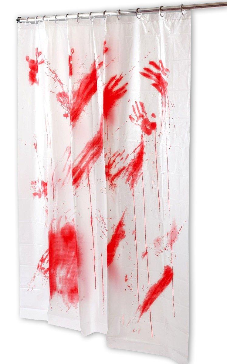 cortinas de baño divertidas - Psicosis