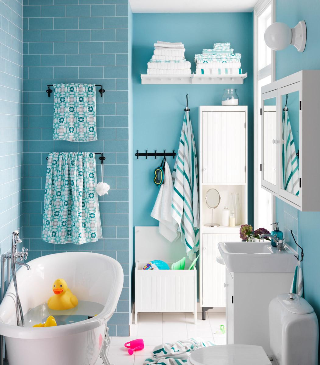 cuartos de baño pequeños - tonalidades claras