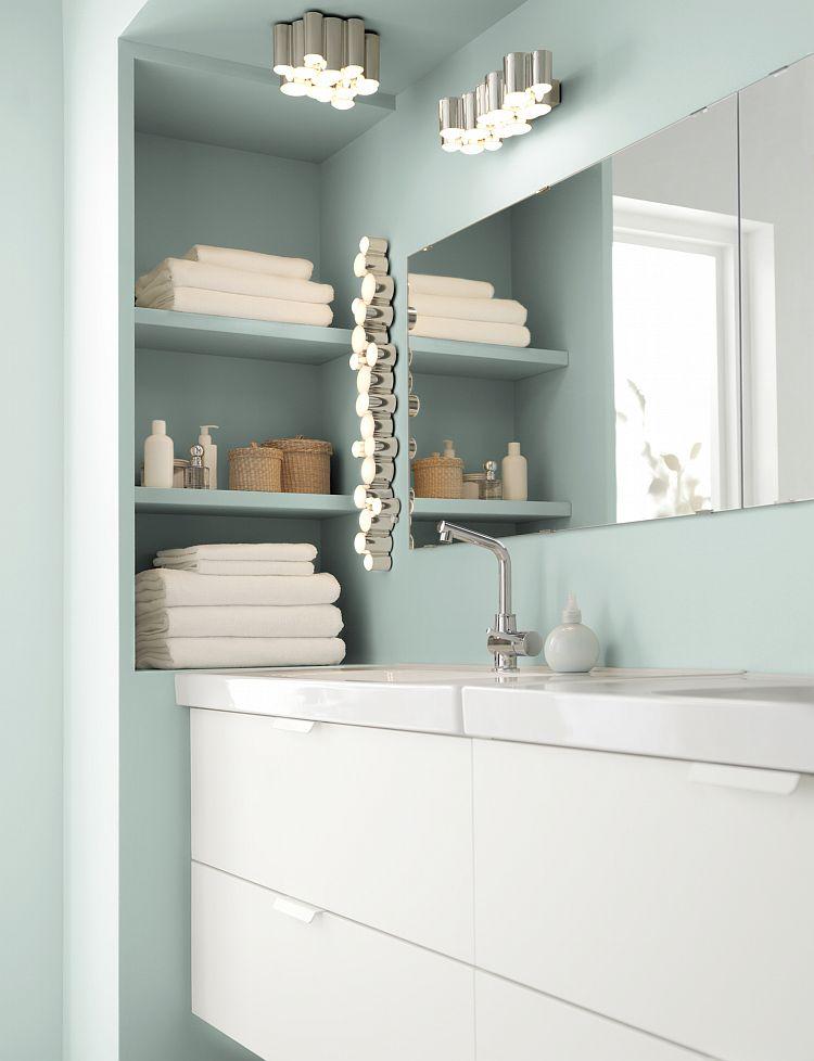 cuartos de baño pequeños - iluminación