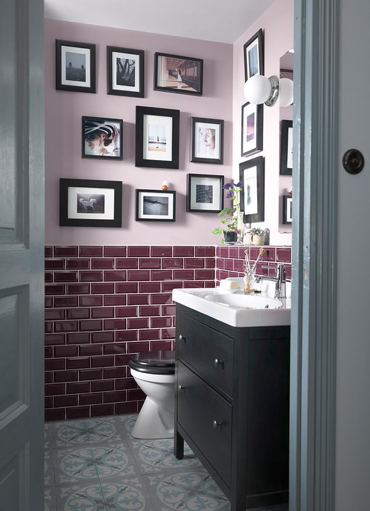 cuartos de baño pequeños con un toque especial