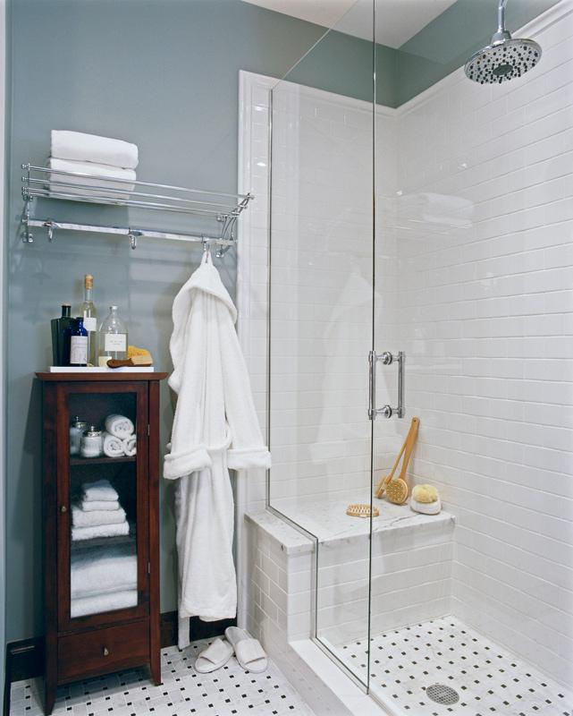 cuartos de baño pequeños - estilos