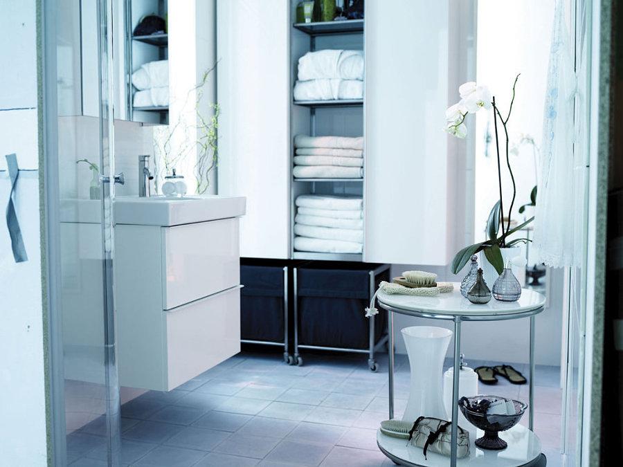 cuartos de baño pequeños - aprovechar el espacio