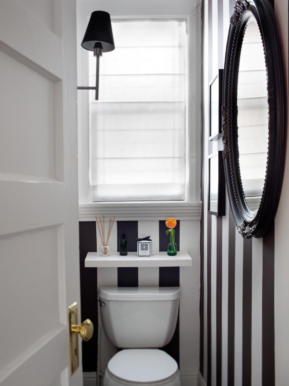 cuartos de baño pequeños - papel pintado